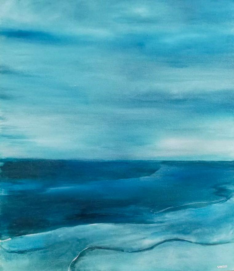 Moody Blue Shore
